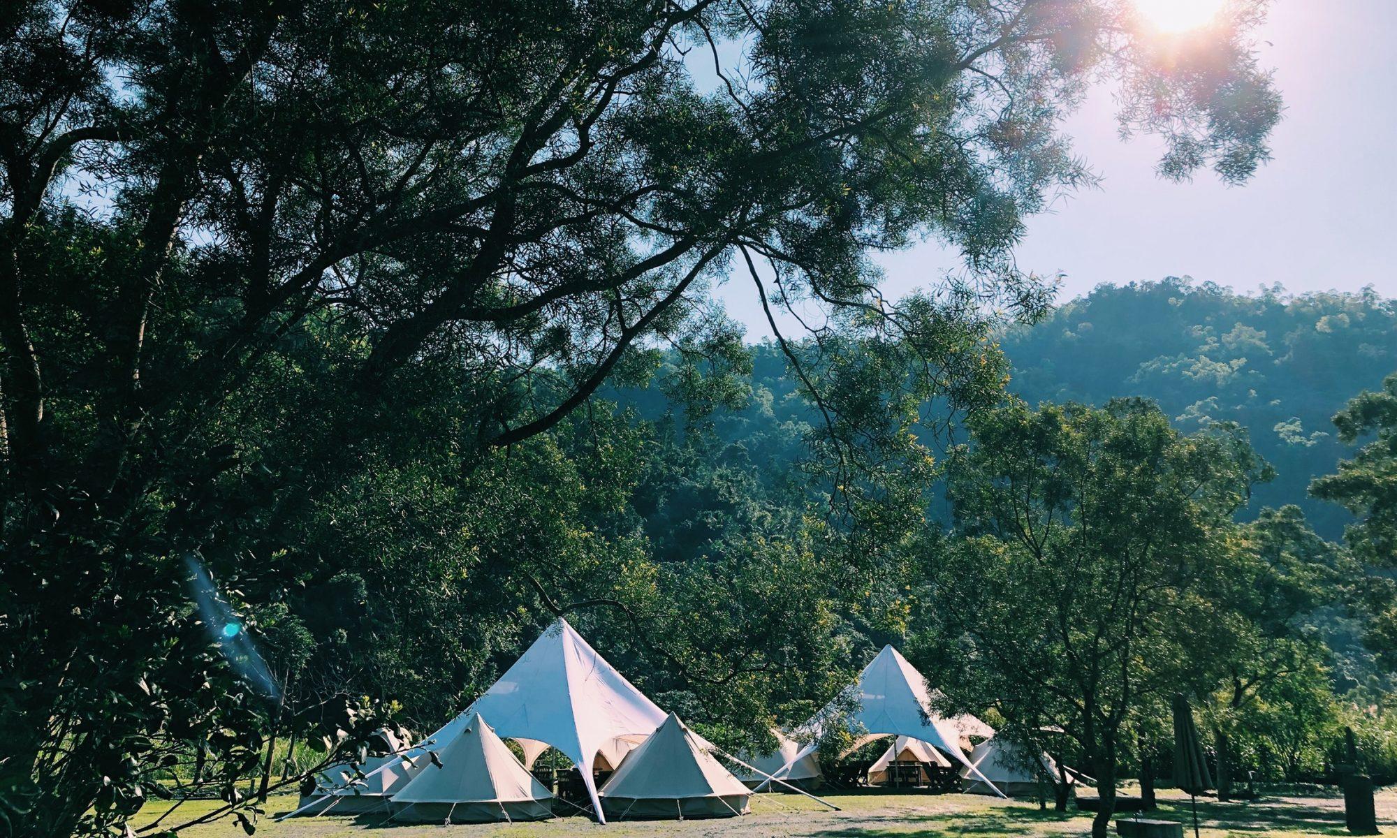 森山林谷中的夢幻聚落