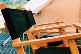 精靈 木頭桌椅